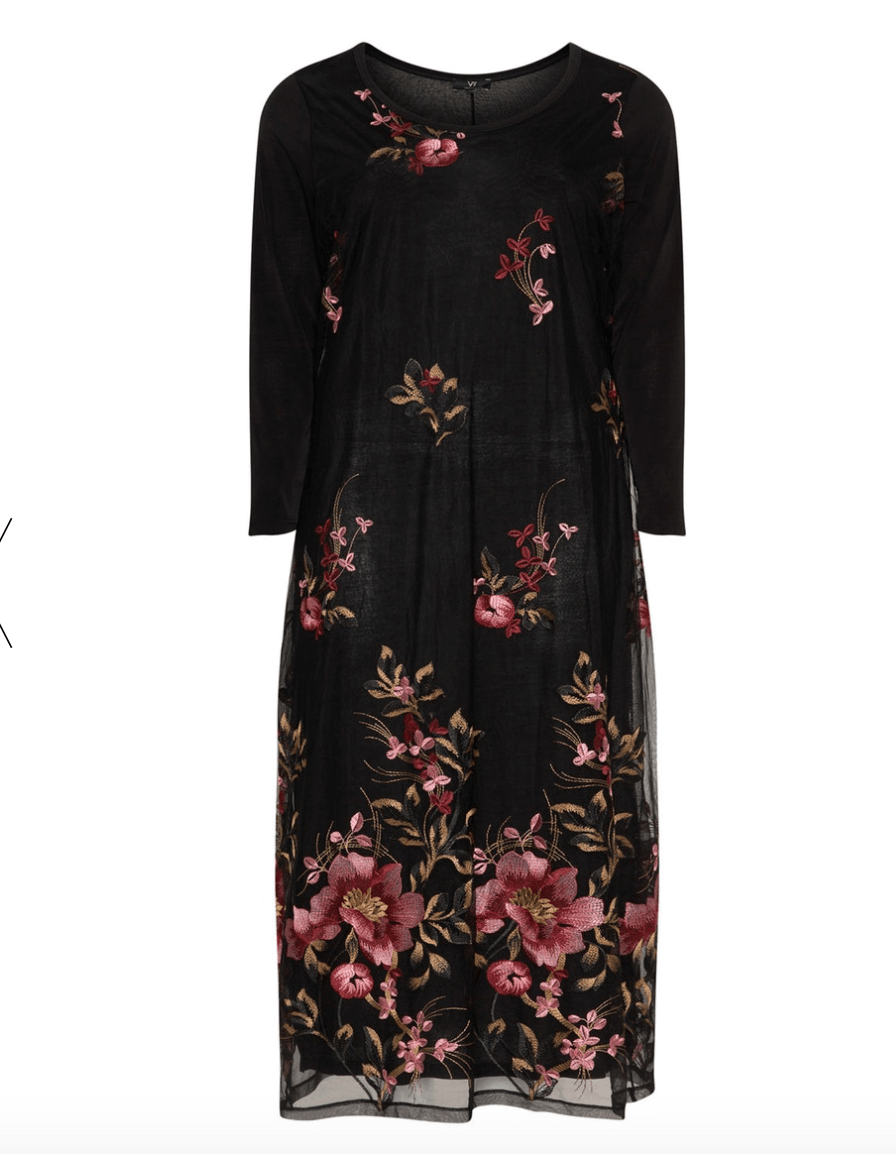 Winter Floral Dress Navabi