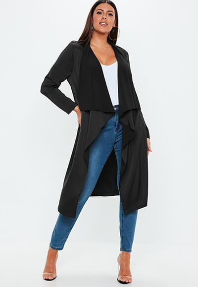 Missguided Waterfall Jacket