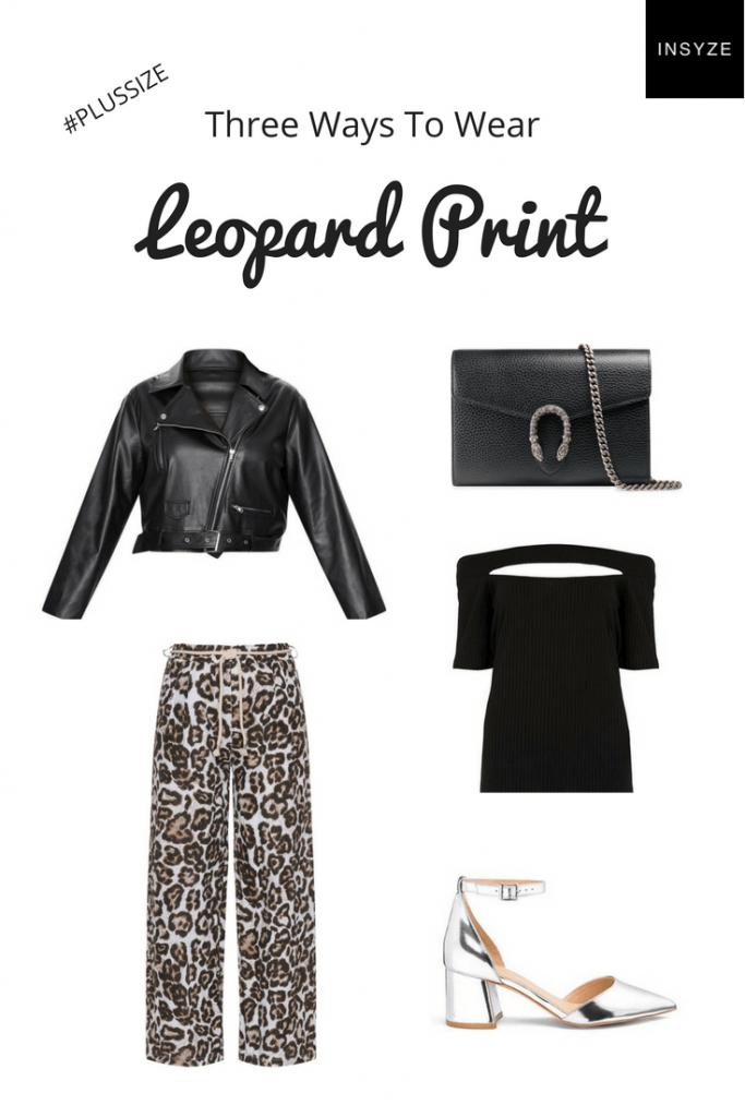plus size leopard print outfit