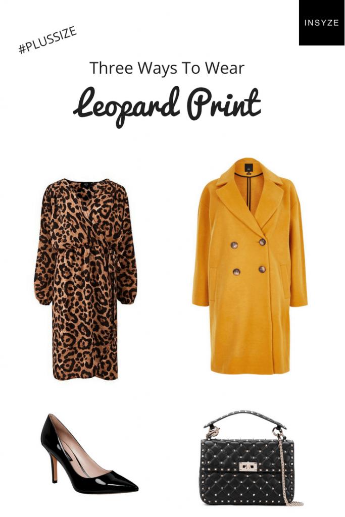 leopard print outfit plus size fashion