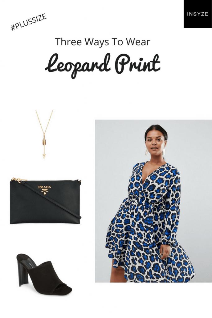 Leopard print look plus size