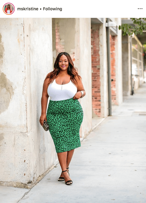 top 100 US plus size bloggers trendy curvy