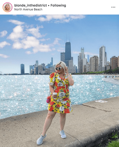 top 100 US plus size bloggers blonde in the district
