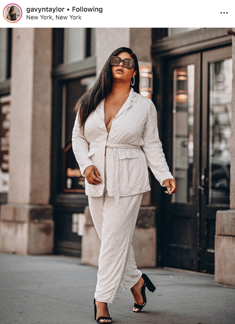 top 100 US plus size bloggers gavyn taylor