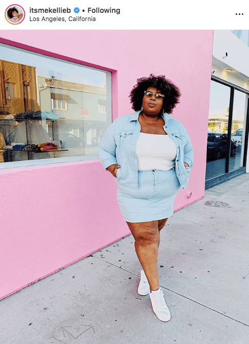 top 100 US plus size bloggers itsmekellieb