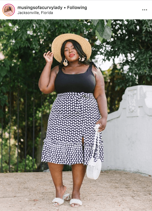 top 100 US plus size bloggers musings of a curvy lady