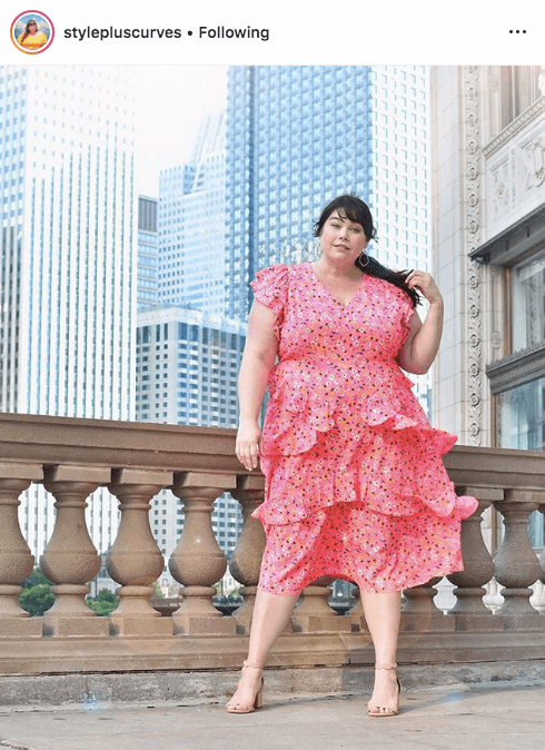 top 100 US plus size bloggers style plus curves