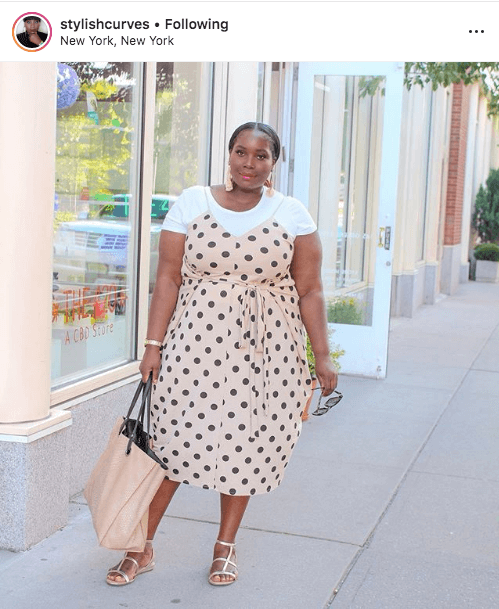 top 100 US plus size bloggers stylish curves