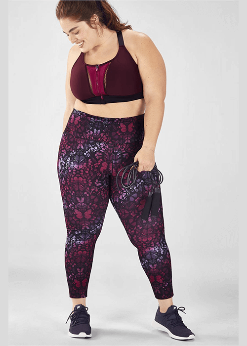 California Dreaming Style Fabletics Cross Train Set