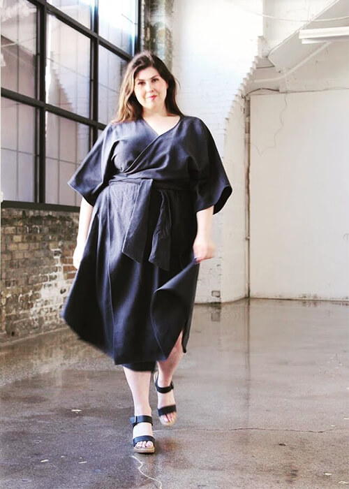 Best sustainable plus size brands: Hackwith Design House