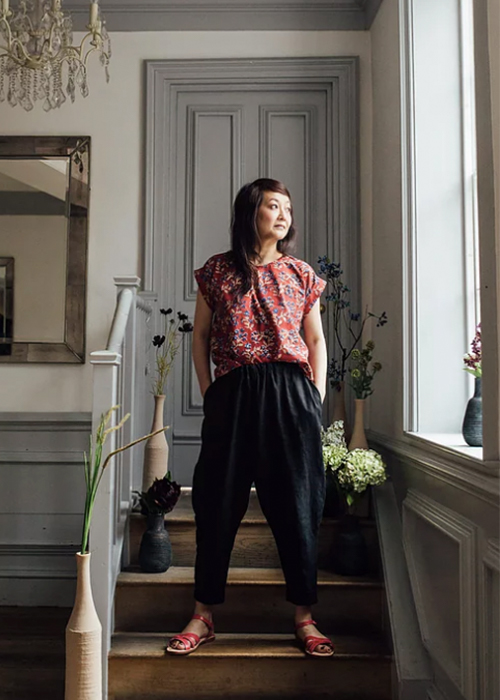 Wild Flora Clothing Linen Trousers