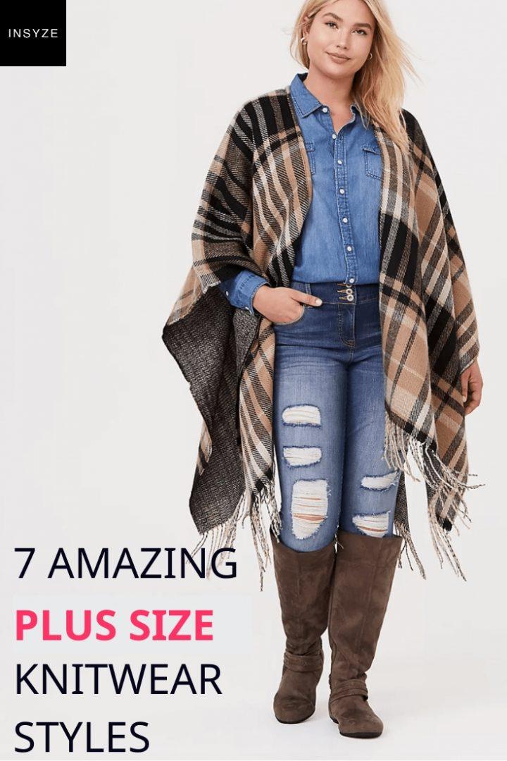 Plus Size Knitwear Styles