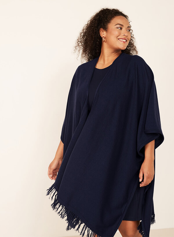 Fall Knitwear navabi Wool Blend Poncho