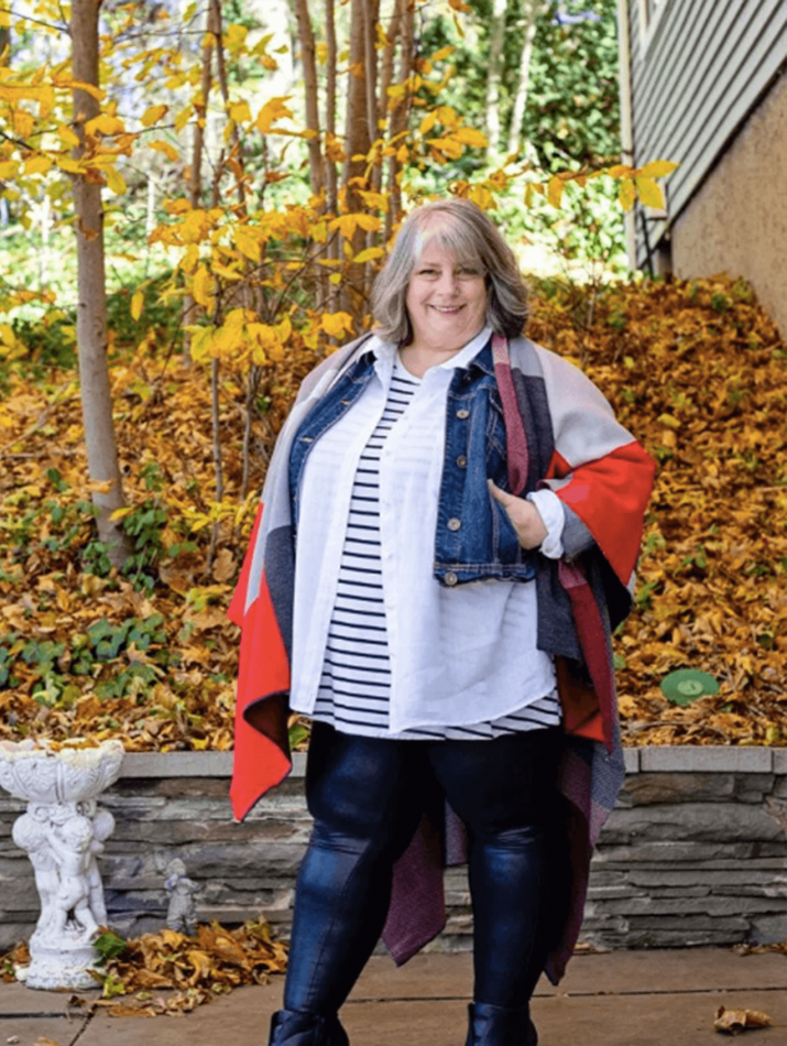 Stylish plus size tops for women over 50   Insyze