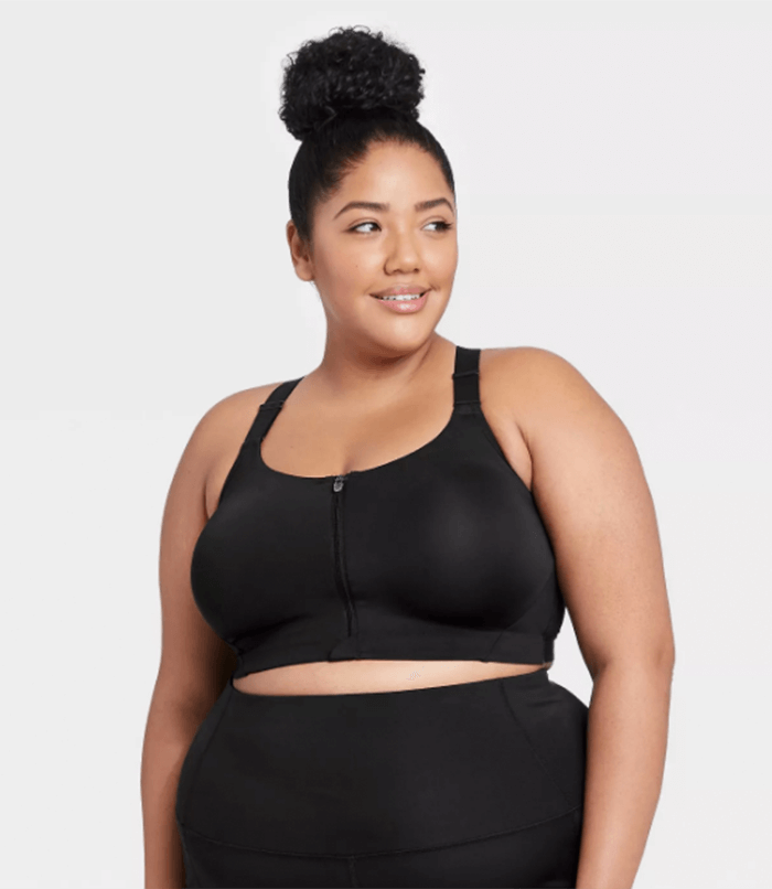 Targets plus size activewear collection high support bra