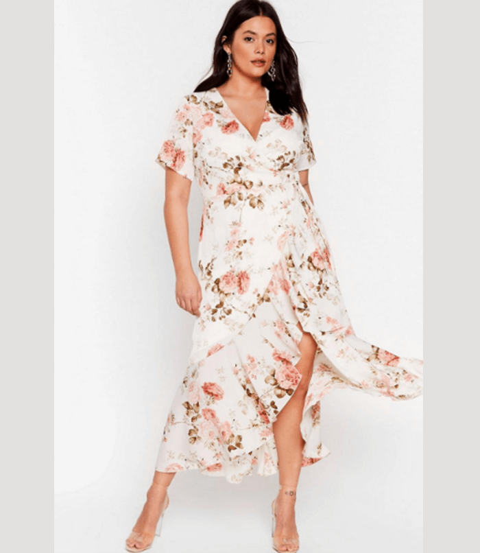 plus size dresses for wedding guests Nasty Gal