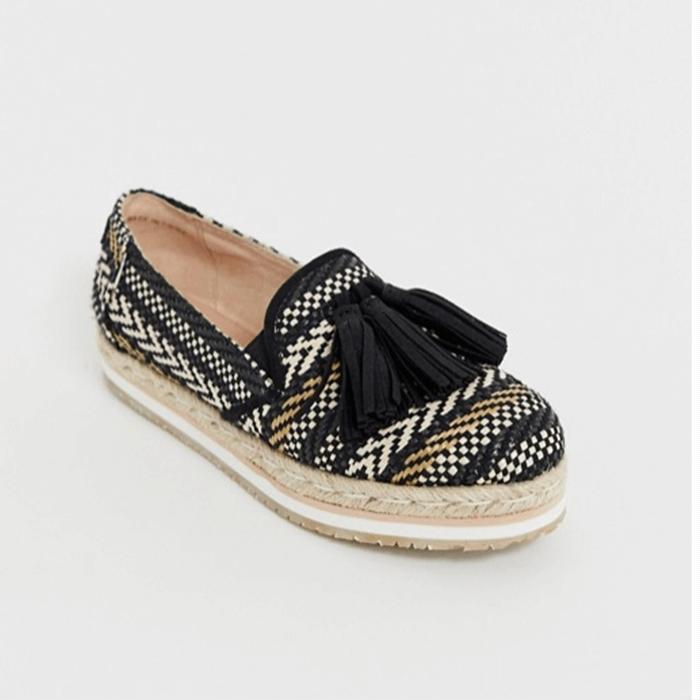 Wide Fit Shoes For Summer ASOS Toms Flatform Tassle Espadrille