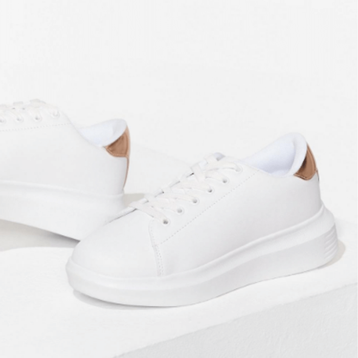 Your Time To Shine Wide Fit Trainers Nasty Gal