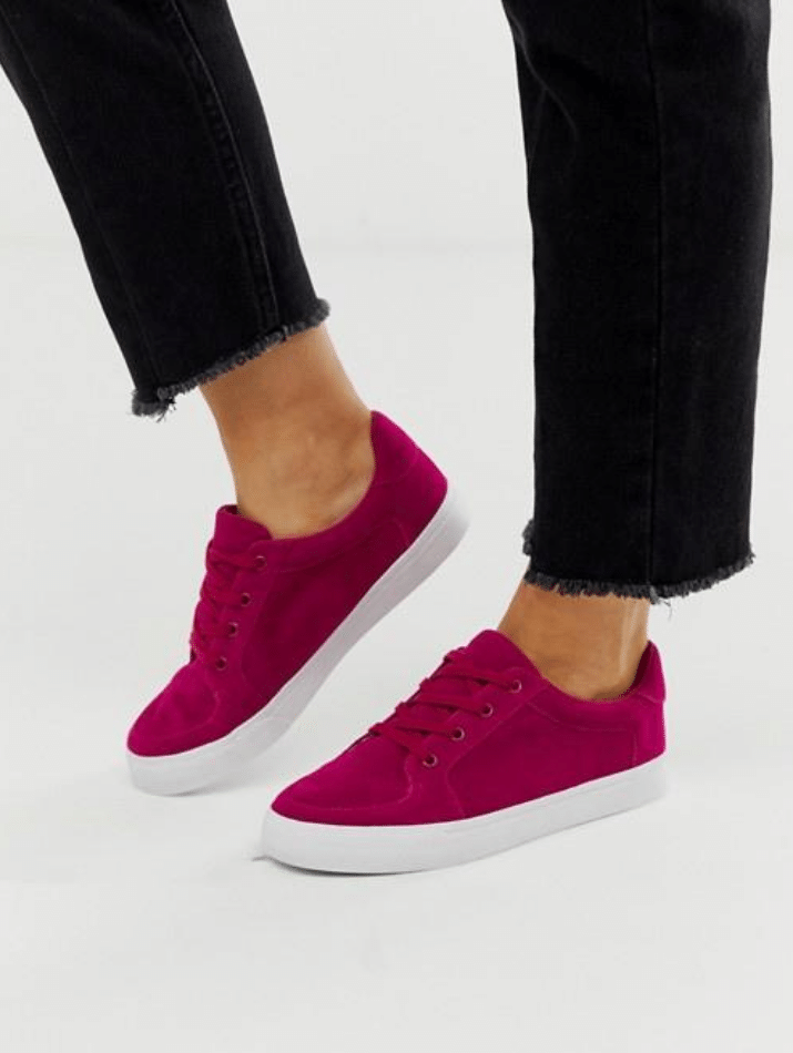 casual wide cheap plus size sneakers