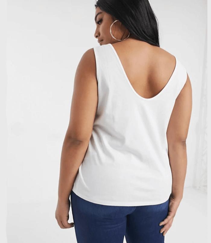 ASOS Curve Ultimate Organic Cotton Scoop Neck Tank